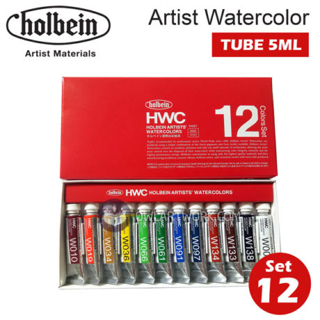 mau-nuoc-holbein-artist-watercolor-set-12m