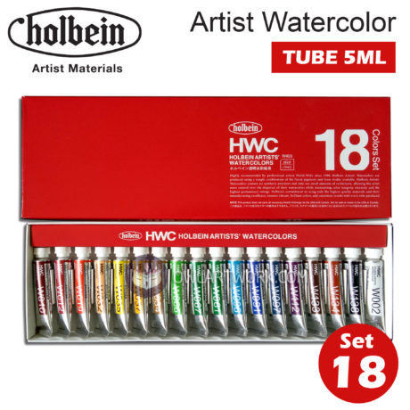 mau-nuoc-holbein-artist-watercolor-set-18m