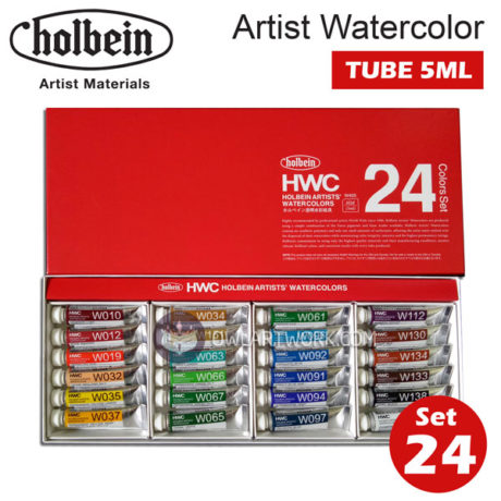 mau-nuoc-holbein-artist-watercolor-set-24m