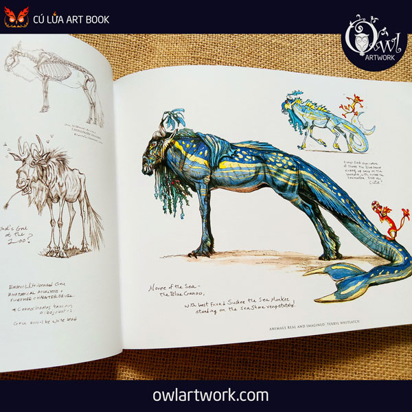 owlartwork-sach-artbook-concept-art-animal-real-and-imagined-10