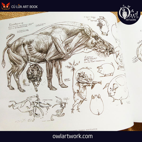 owlartwork-sach-artbook-concept-art-animal-real-and-imagined-11