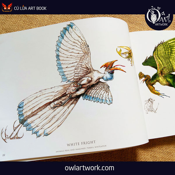 owlartwork-sach-artbook-concept-art-animal-real-and-imagined-3