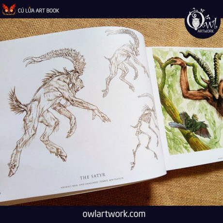 owlartwork-sach-artbook-concept-art-animal-real-and-imagined-4