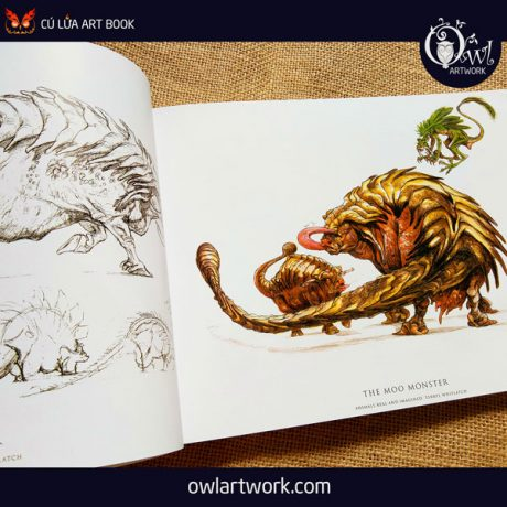 owlartwork-sach-artbook-concept-art-animal-real-and-imagined-5