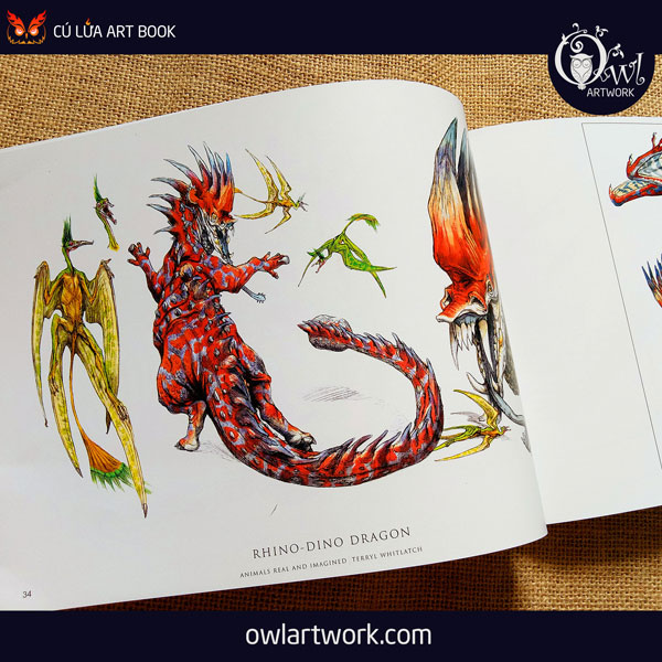 owlartwork-sach-artbook-concept-art-animal-real-and-imagined-6