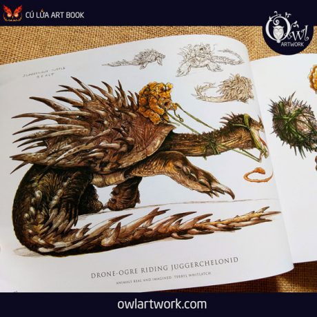 owlartwork-sach-artbook-concept-art-animal-real-and-imagined-7