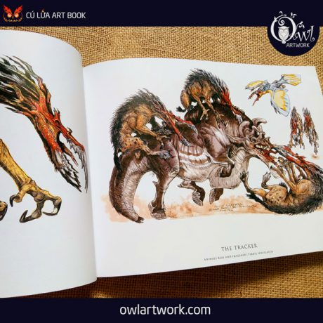 owlartwork-sach-artbook-concept-art-animal-real-and-imagined-9