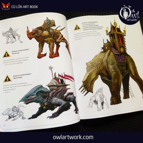 owlartwork-sach-artbook-concept-art-desining-creatures-and-characters-8