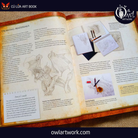 owlartwork-sach-artbook-concept-art-dracopedia-guide-to-drawing-dragons-of-the-world-3