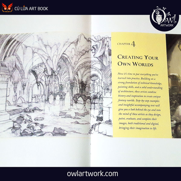 owlartwork-sach-artbook-concept-art-hot-to-draw-and-paint-fantasy-architecture-9