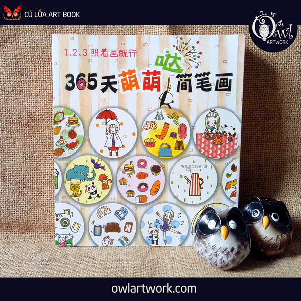 owlartwork-sach-artbook-day-ve-123-sketch-diary-365-days-1