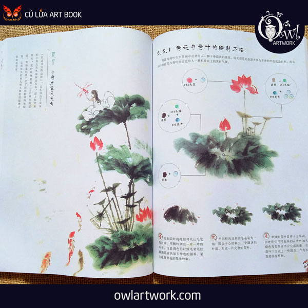owlartwork-sach-artbook-day-ve-ky-thuat-ve-mau-nuoc-thien-nhien-3