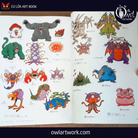 owlartwork-sach-artbook-game-dragon-quest-illustration-20th-5