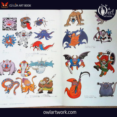 owlartwork-sach-artbook-game-dragon-quest-illustration-20th-6