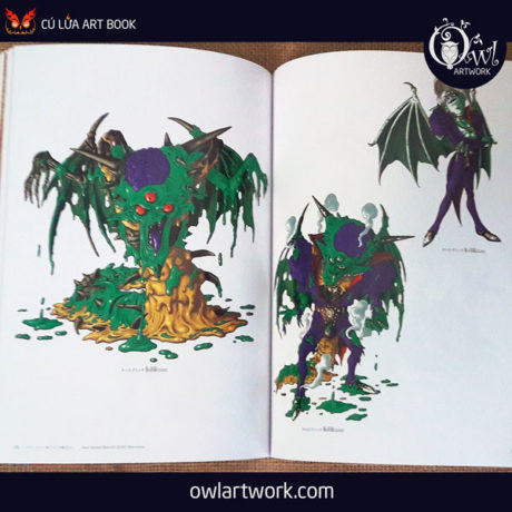 owlartwork-sach-artbook-game-dragon-quest-illustration-20th-9