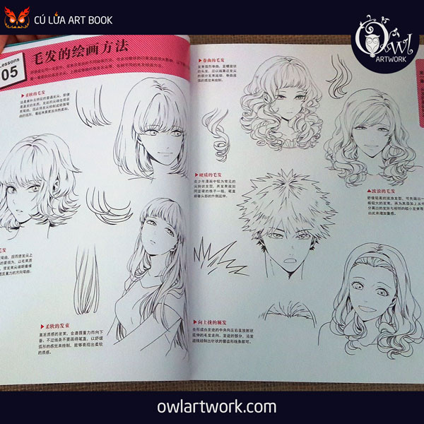 owlartwork-sach-artbook-hair-collection-4