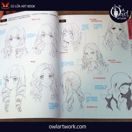 owlartwork-sach-artbook-hair-collection-6