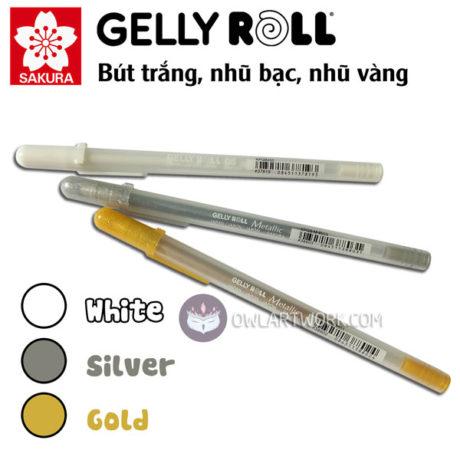 but-gelly-roll-trang-nhu-bac-nhu-vang-sakura