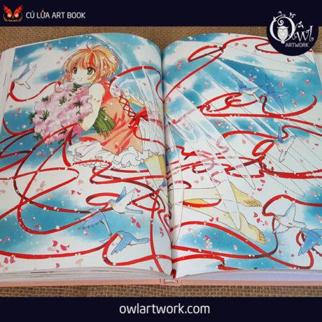 owlartwork-sach-artbook-anime-manga-card-captor-sakura-20th-anniversary-2