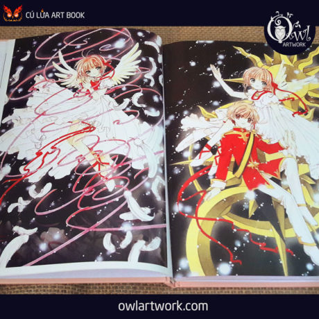 owlartwork-sach-artbook-anime-manga-card-captor-sakura-20th-anniversary-3
