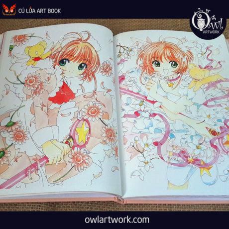 owlartwork-sach-artbook-anime-manga-card-captor-sakura-20th-anniversary-9