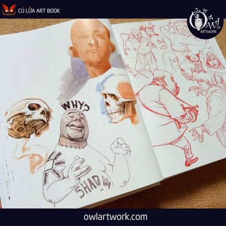 owlartwork-sach-artbook-concept-art-kim-jung-gi-sketch-collection-3