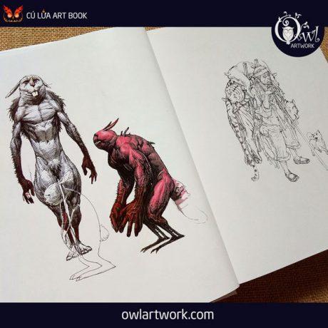 owlartwork-sach-artbook-concept-art-kim-jung-gi-sketch-collection-5