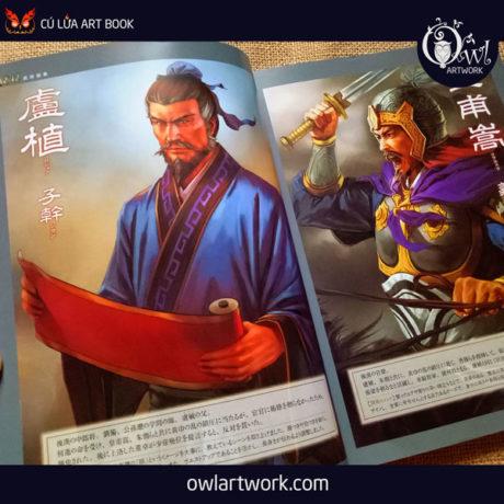 owlartwork-sach-artbook-game-sangokushi-12-bushou-2