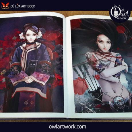 owlartwork-sach-artbook-trung-quoc-xiao-bai-fantasy-tattoo-14