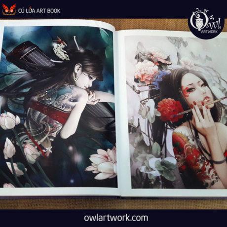 owlartwork-sach-artbook-trung-quoc-xiao-bai-fantasy-tattoo-7